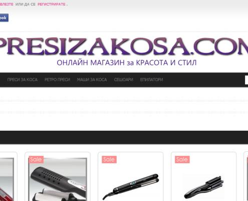 Онлайн магазин за преси за коса