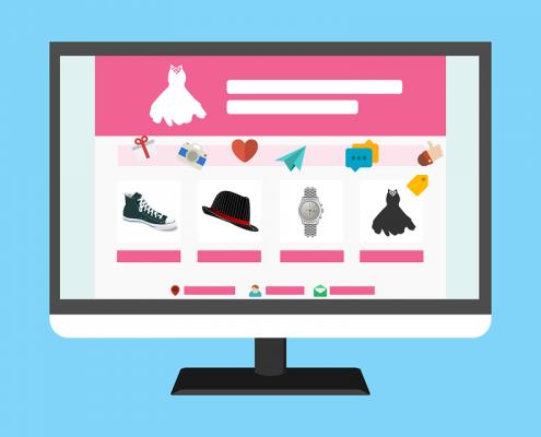 Категории в онлайн магазин